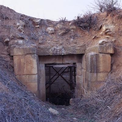 Θολωτός τάφος στα Φάρσαλα
